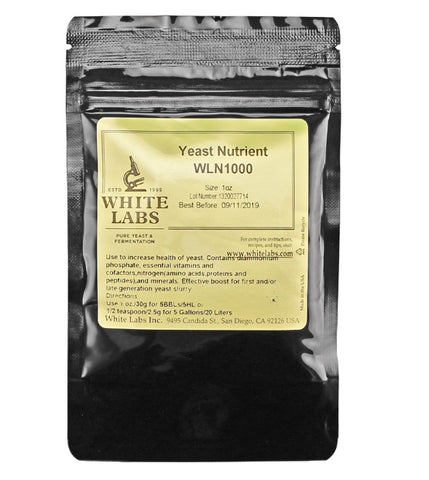 White Labs yeast nutrient WLN1000