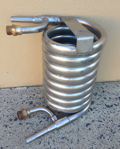 Ibrew Stainless Convoluted Wort Chiller