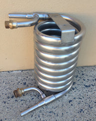 Stainless Convoluted Wort Chiller