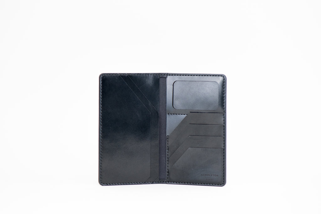 International Traveler's Tall Wallet : Black