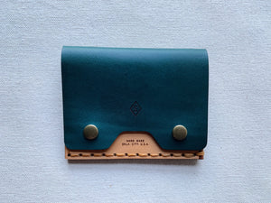 MMXX Card Snap : teal / brown