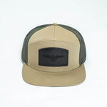 Eagle Cap : Khaki / Green / Black