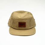 SMPLTN Camp Cap : Khaki / Brown