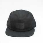 SMPLTN Camp Cap : Black / Black