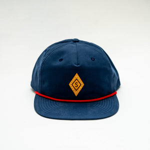 Diamond Cap : Blue / Yellow