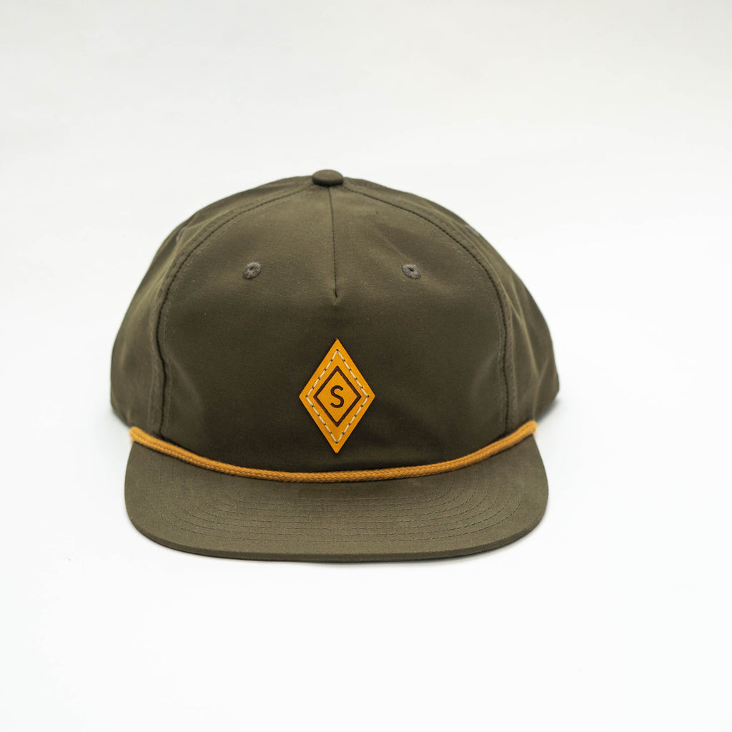 Diamond Cap : Green / Yellow