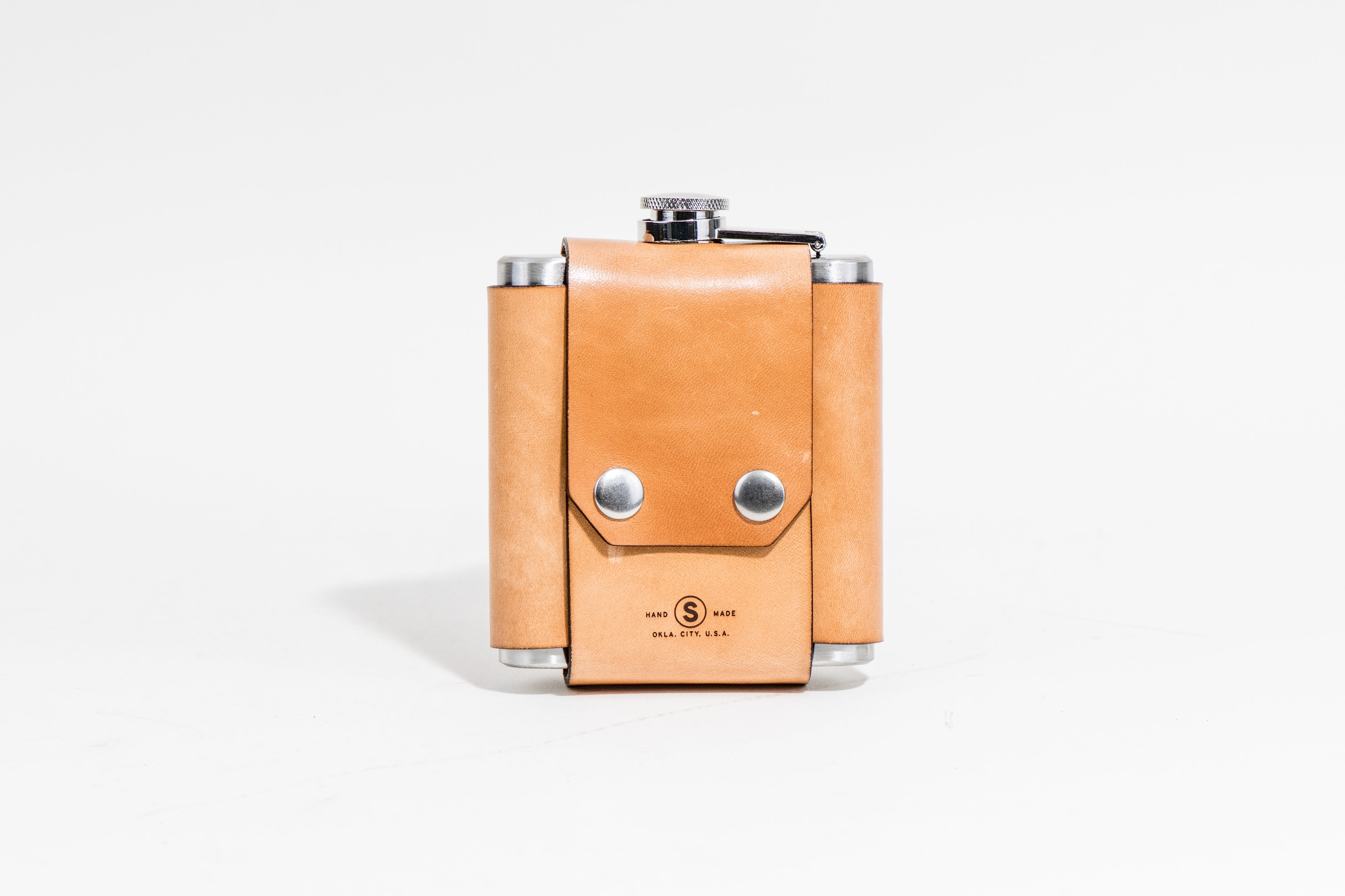 Flask & Cover : Russet