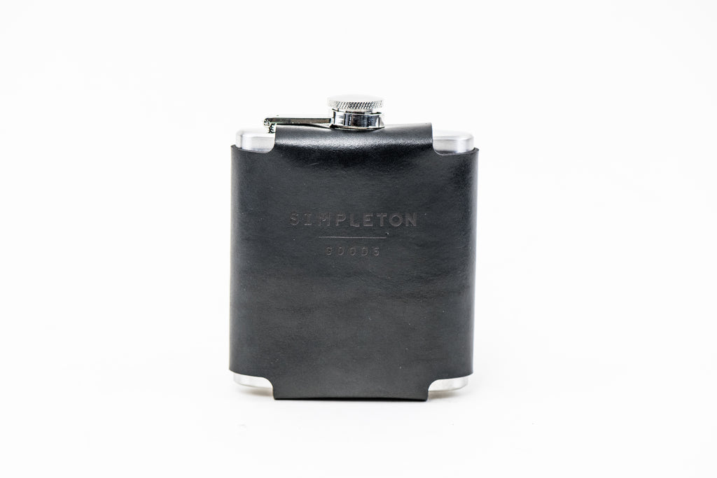 Flask & Cover : Black