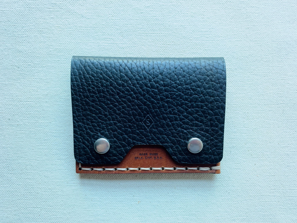 MMXX Card Snap : black / brown