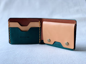 MMXX Bi-Fold : teal / brown