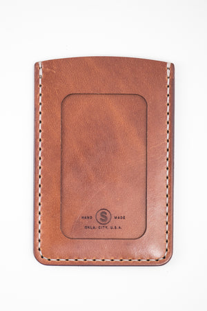 Hargrave Card Wallet : Buck Brown