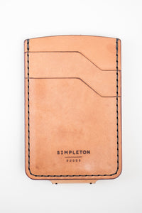 Magnetic Hargrave Card Wallet : Russet