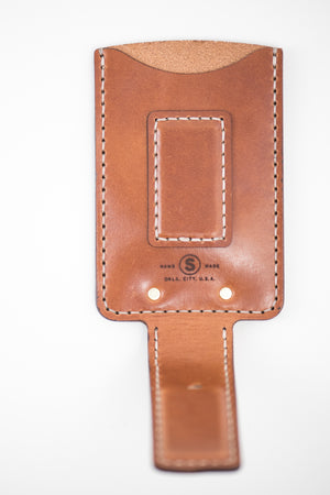 Magnetic Hargrave Card Wallet : Buck Brown
