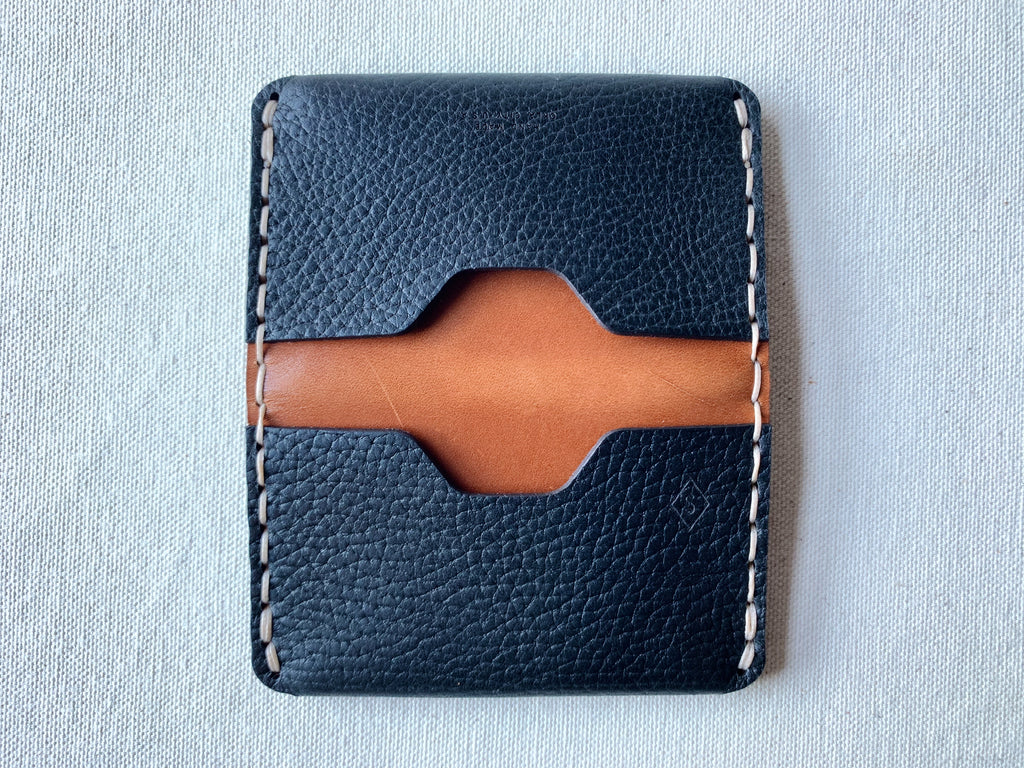 MMXX Card Fold : black / brown