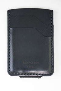 Magnetic Hargrave Card Wallet : Black