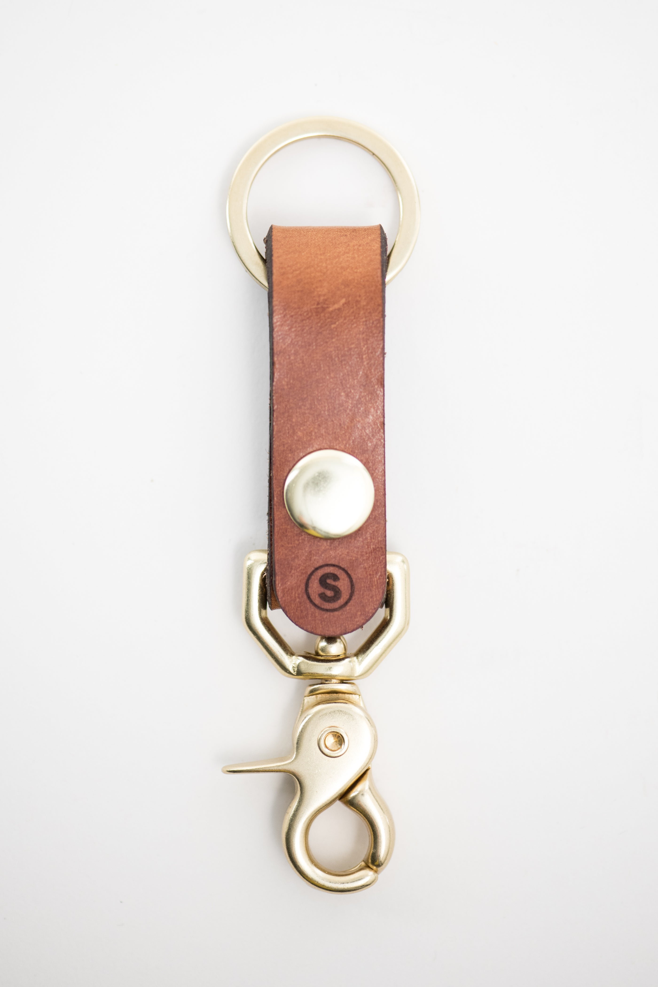 Plains Key Clip : Buck Brown
