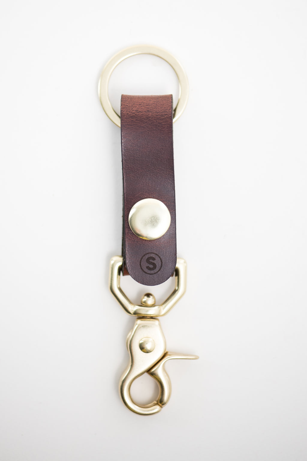Plains Key Clip : Burgundy
