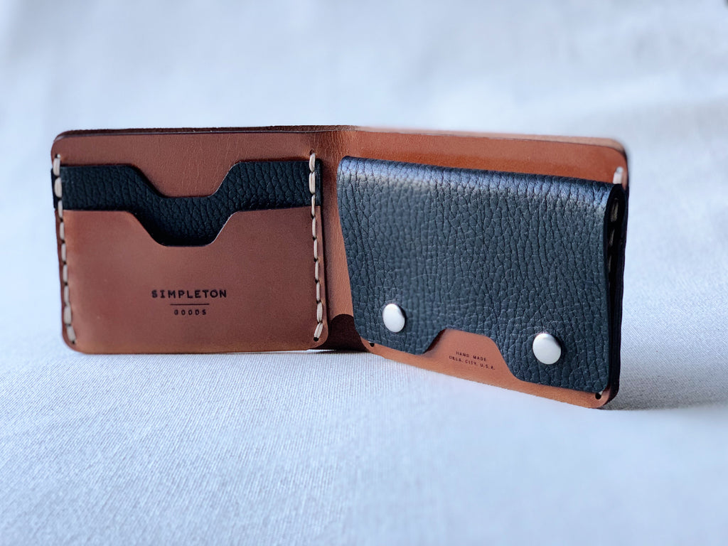 MMXX Bi-Fold : black / brown