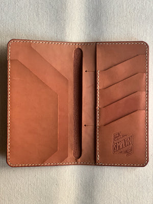 Tall Wallet : Chestnut