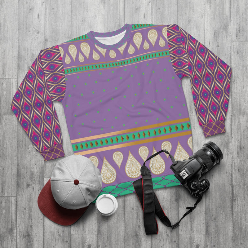 Sari Not Sorry Sweatshirt (Purple)