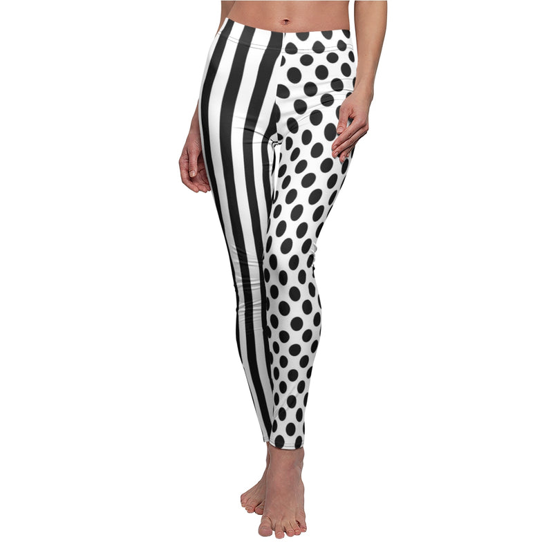 Glamour Girl Thick Harlequin Leggings