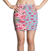 Bubbly Floral Active Mini Skirt