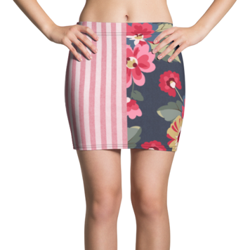 Country Rose Gypsy Active Mini Skirt