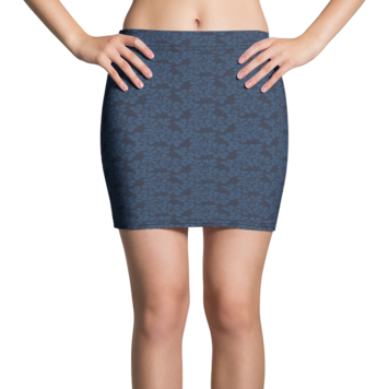 Miranda Blue Active Mini Skirt