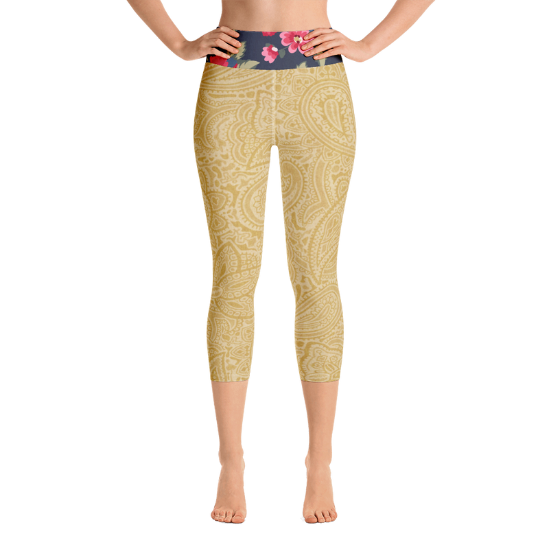 Country Rose Capris