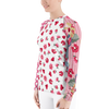 Bubbly Floral Dot Rash Guard
