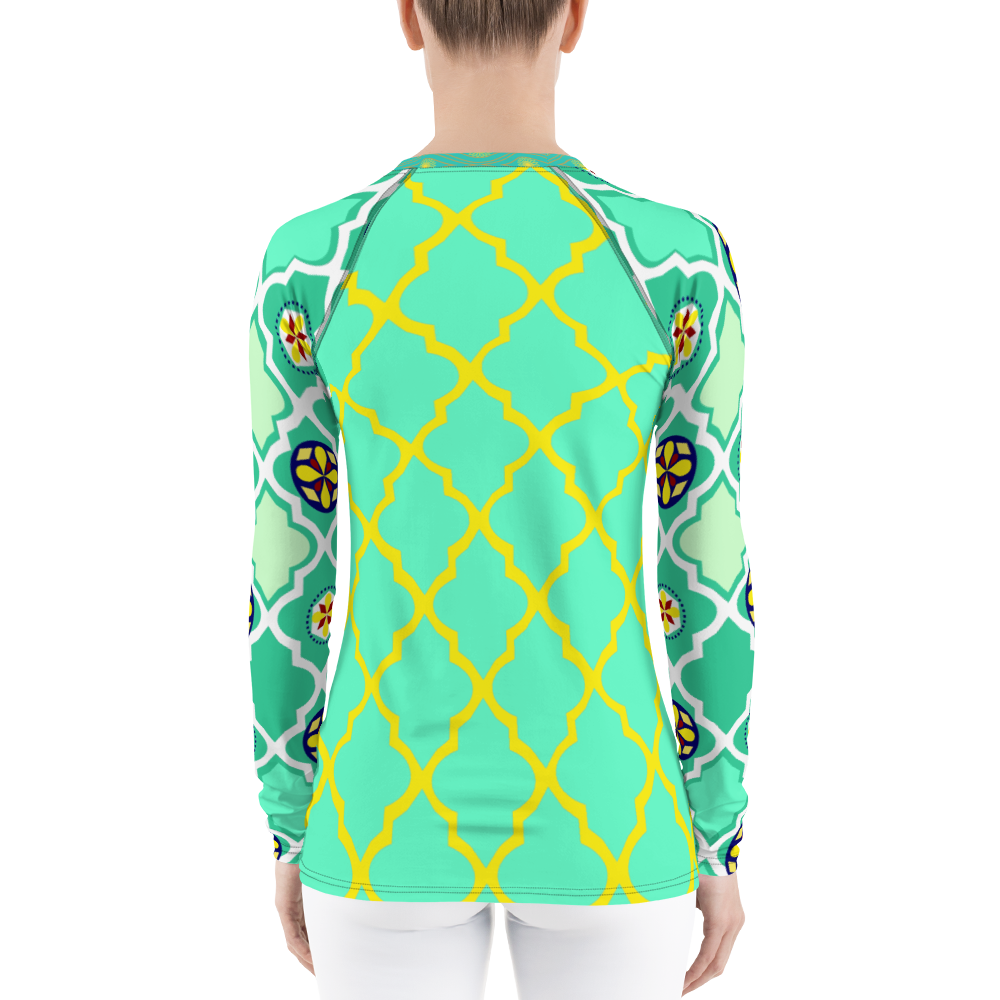Neon Lights Rash Guard