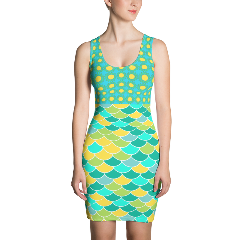 Green Bayou Sports Dress