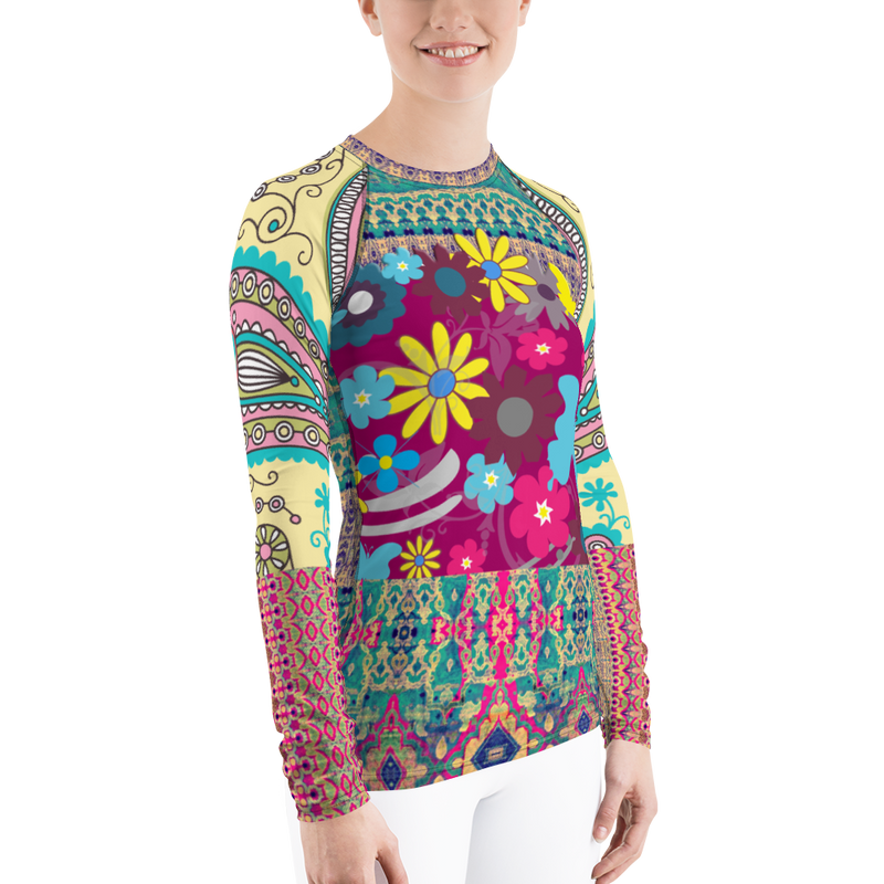 Groovy Baby Rash Guard