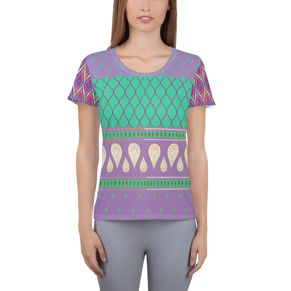 Sari Not Sorry II Athletic Top (Purple)