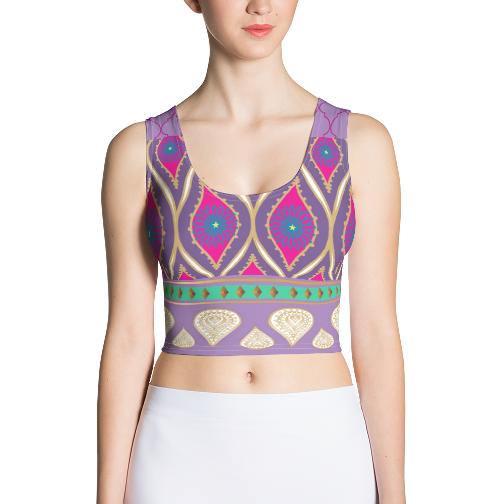 Sari Not Sorry Power Crop (Purple)