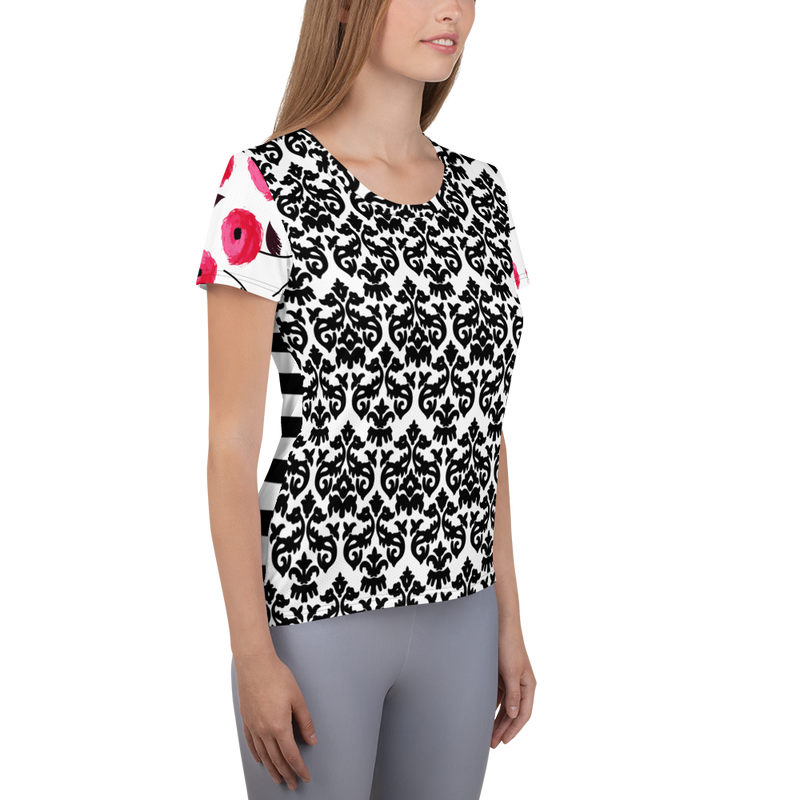 Regatta Stripe Lace Athletic Top