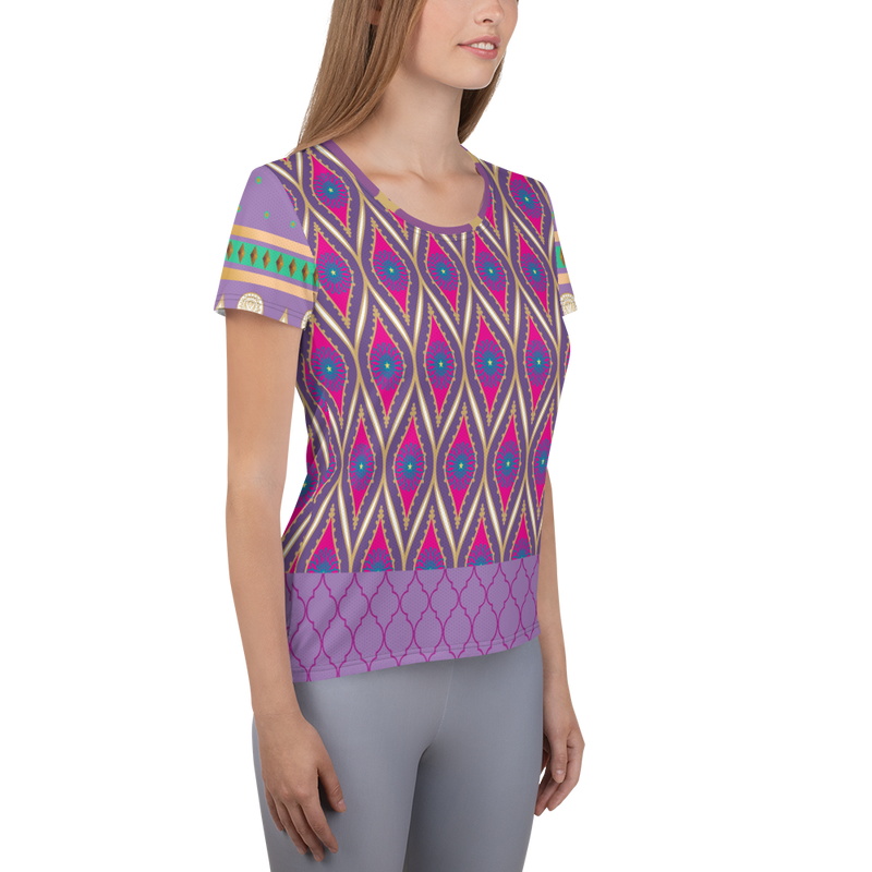 Sari Not Sorry Athletic Top (Purple)