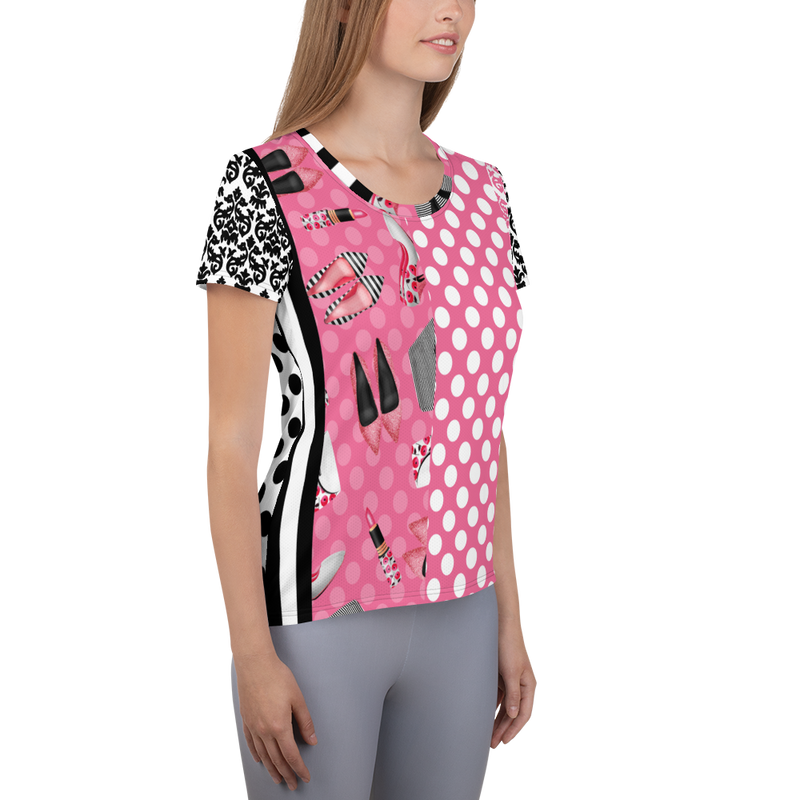 Glamour Girl Trance Athletic Top
