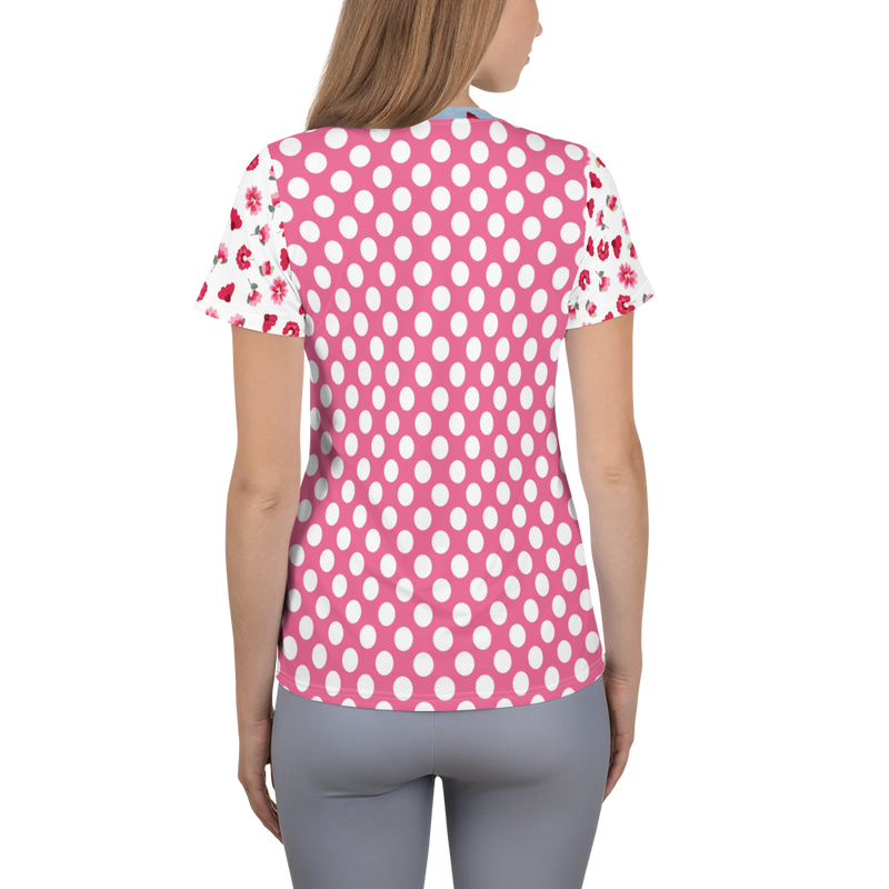 Bubbly Blossom Athletic Top