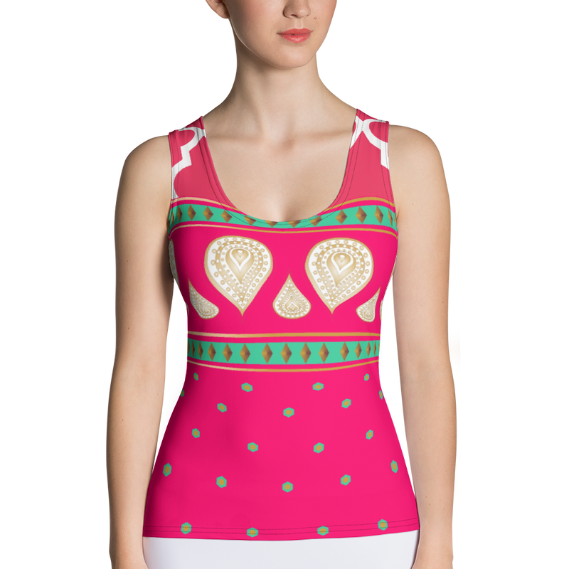 Sari Not Sorry Power Tank (Pink)