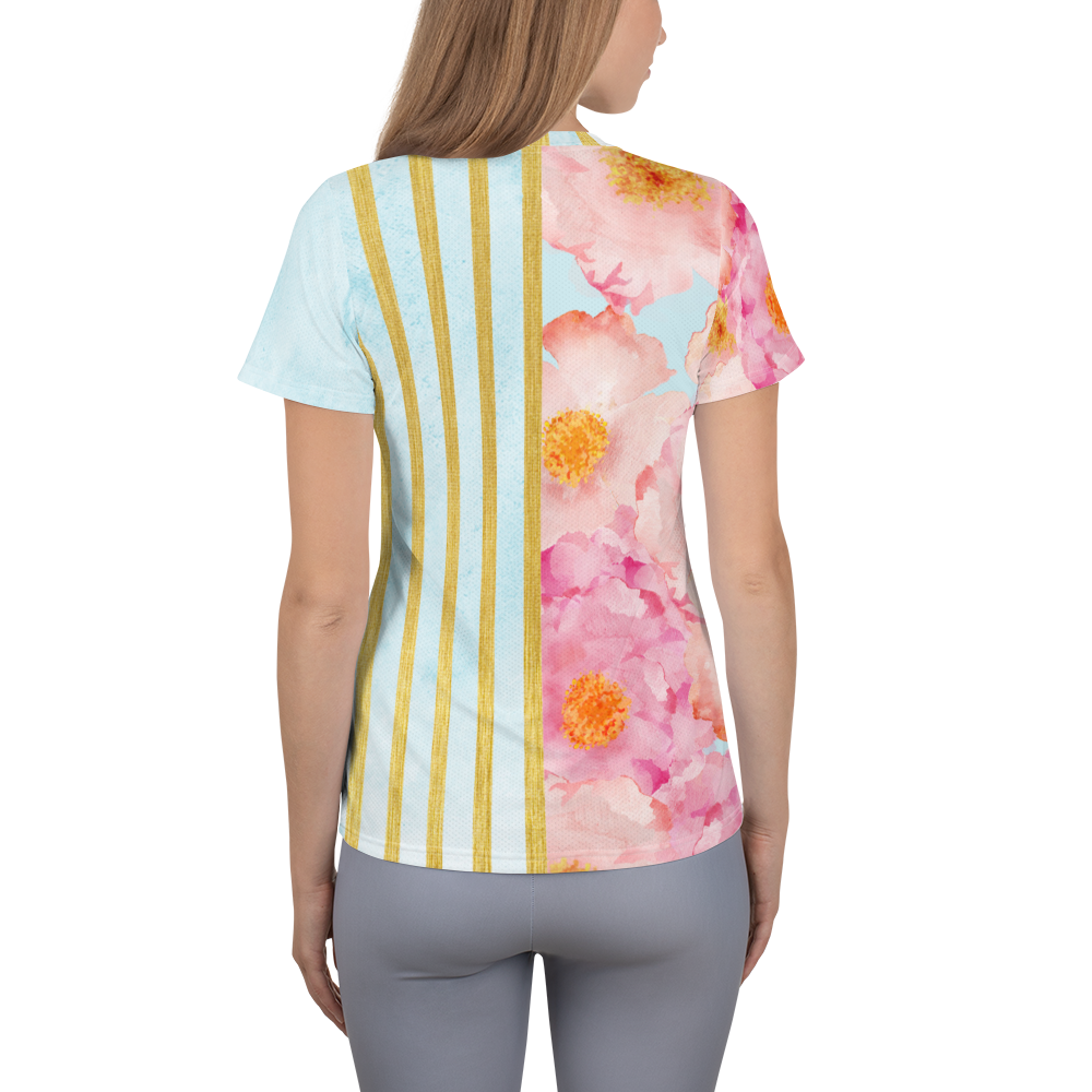 Golden Posie Carnivale Athletic Top