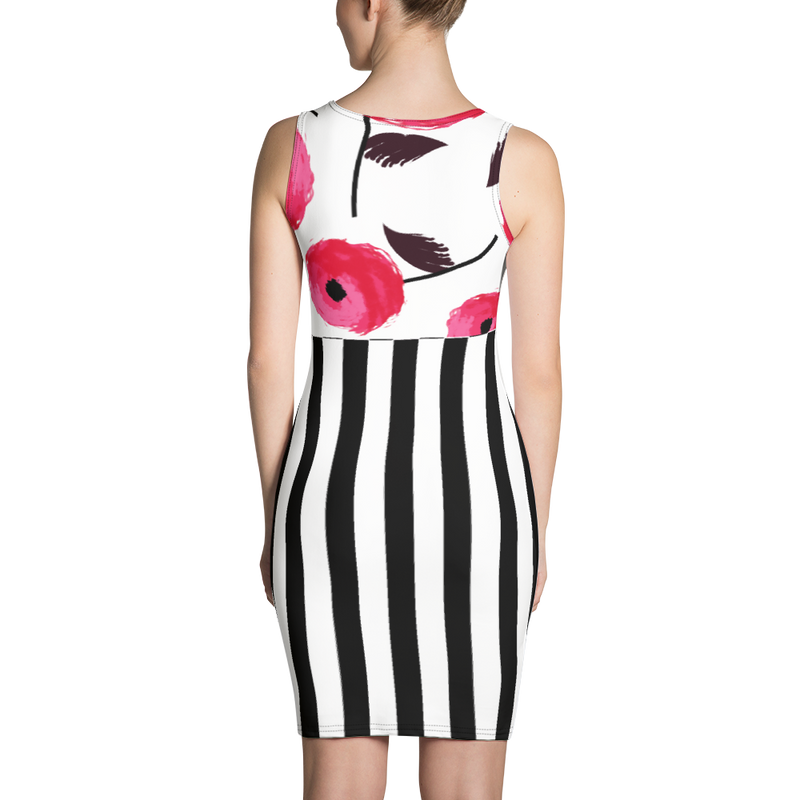 Regatta Stripe Elegante Sports Dress/Beach Coverup