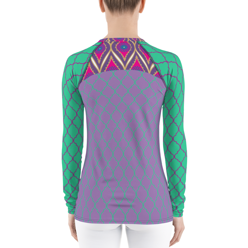 Sari Not Sorry Rash Guard (Purple)