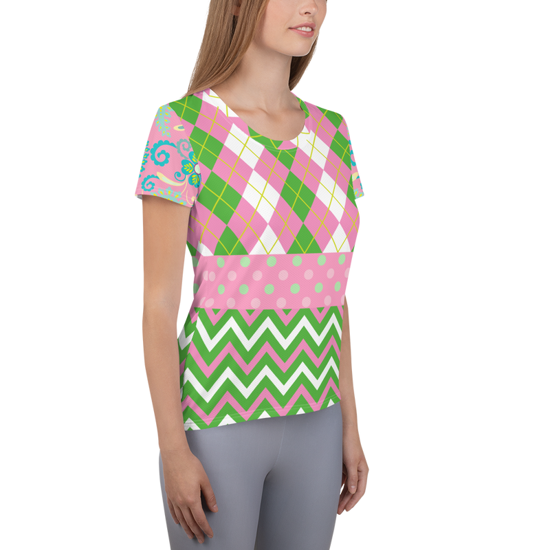 Pink Kelsey II Athletic Top