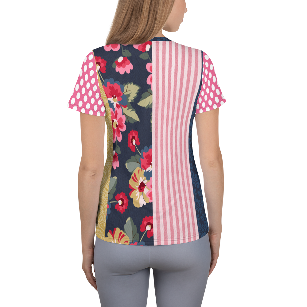 Country Rose Gypsy Athletic Top