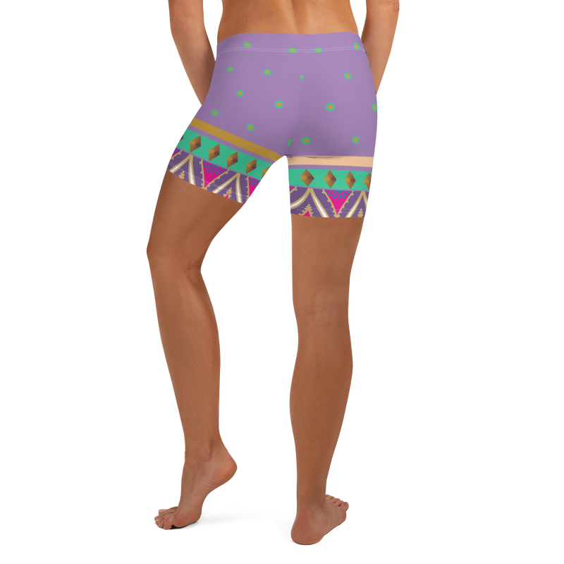Sari Not Sorry Shorts (Purple)