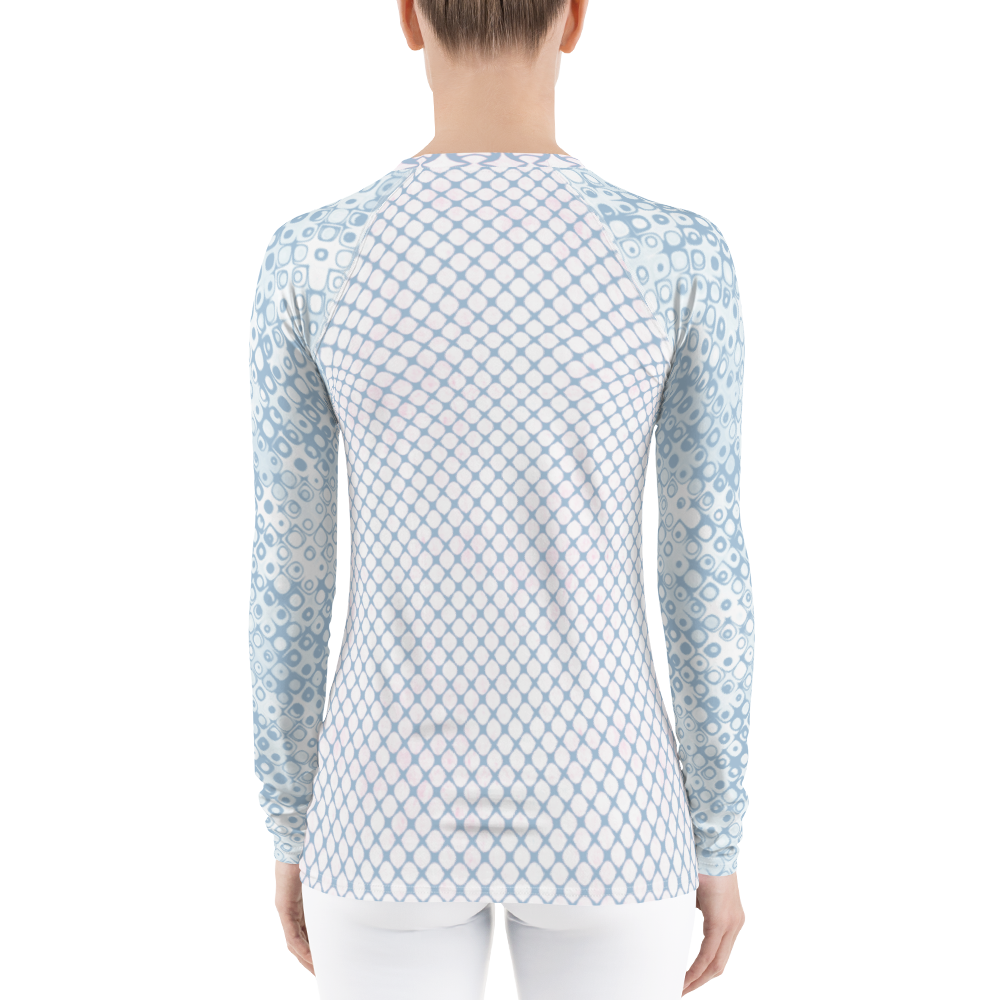 Bubbles Galore Diamond Rash Guard