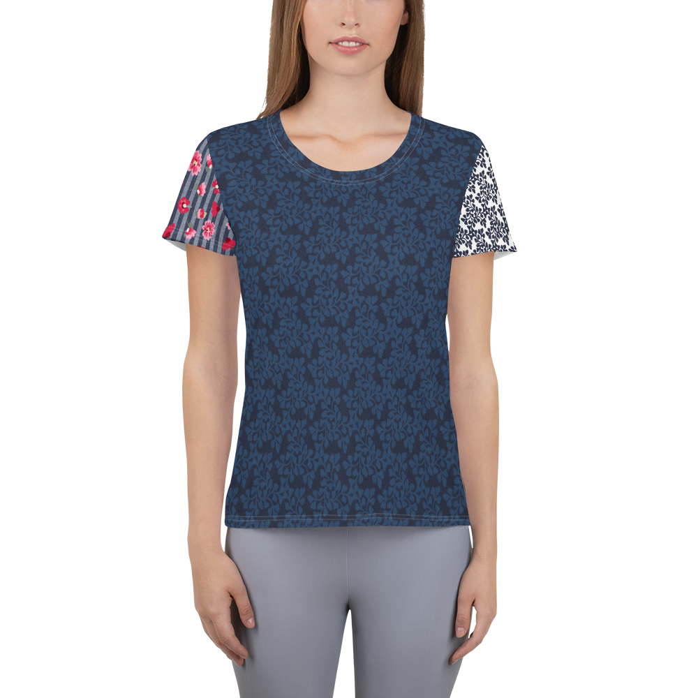 Miranda Navy Athletic Top