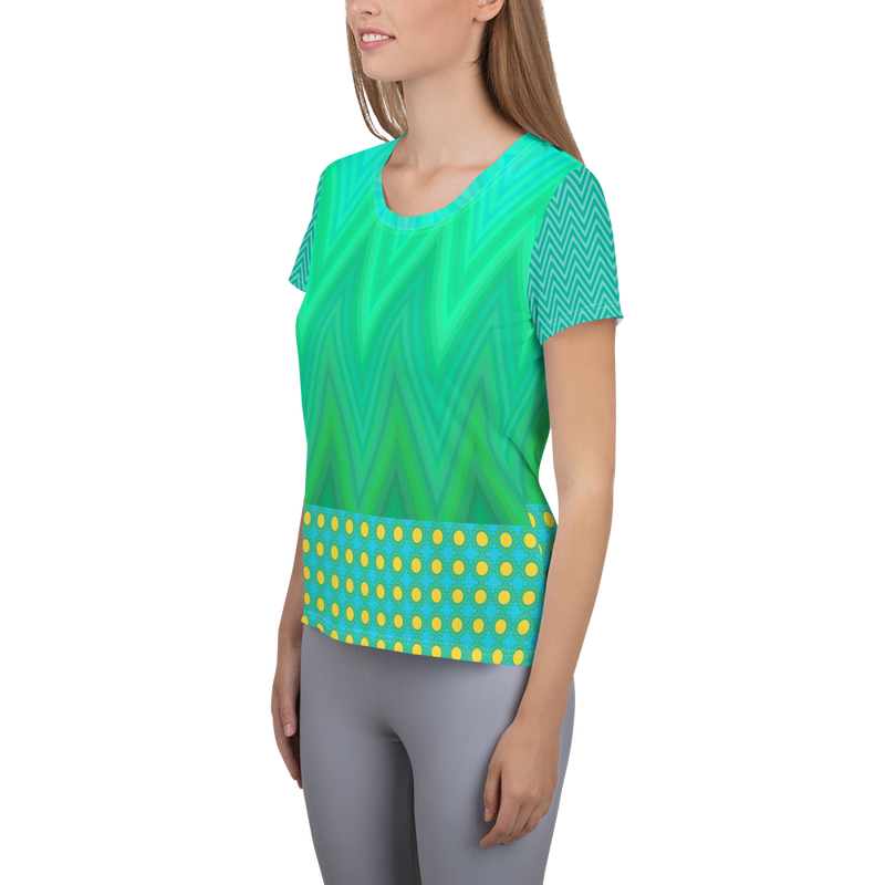 Green Bayou Athletic Top