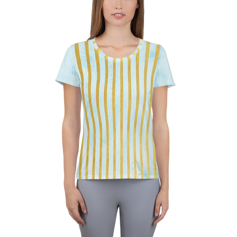 Golden Posie Majestic Athletic Top